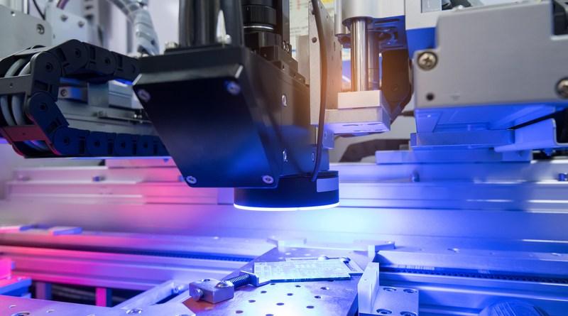 Industrial Robotics - An Eye for Machine Vision